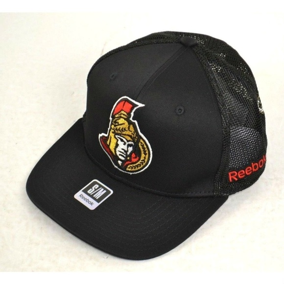best website 416ee 387c8 ... switzerland nhl ottawa senators structured flex fitted hat s m 0800f  d41cd